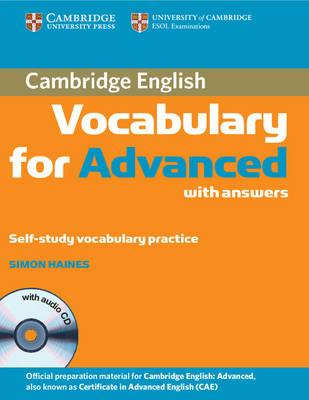 Cambridge Vocabulary for Advanced with Answers and Audio CD