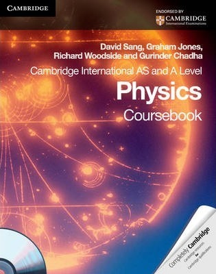 Cambridge International AS Level and A Level Physics Coursebook with CD-ROM