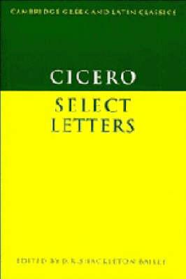 Cicero: Select Letters
