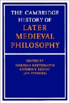 Later Medieval Philosophy