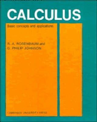 Calculus  Basic Concepts and Applications