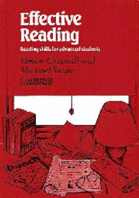 Effective Reading Student's book  Reading Skills for Advanced Students