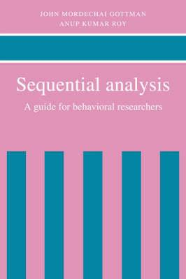 Sequential Analysis  A Guide for Behavorial Researchers