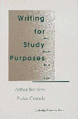 Writing for Study Purposes: A Teacher's Guide to Developing Individual Writing Skills