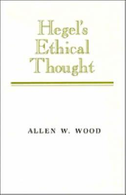 Hegel's Ethical Thought