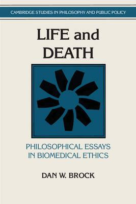 Cambridge Studies In Philosophy And Public Policy Life And Death  Cambridge Studies In Philosophy And Public Policy Life And Death Philosophical  Essays In Biomedical English Essay Writer also Compare And Contrast Essay High School Vs College  A Service To Write Papaers