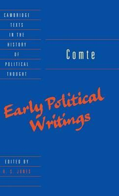 Comte: Early Political Writings