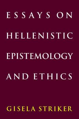essays on hellenistic epistemology