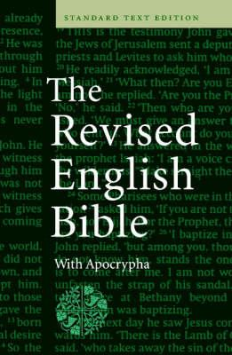 REB Text Edition with Apocrypha Hardback with jacket REBA140