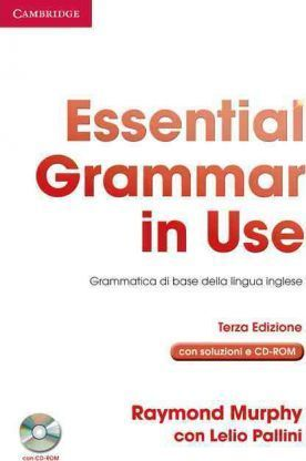 Essential Grammar in Use with Answers with CD-ROM Italian Edition