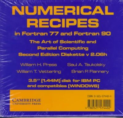 Numerical Recipes In Fortran 77 And Fortran 90 3 5 Inch Diskette For Windows Ibm 3 5 Inch Diskette William H Press 9780521574402