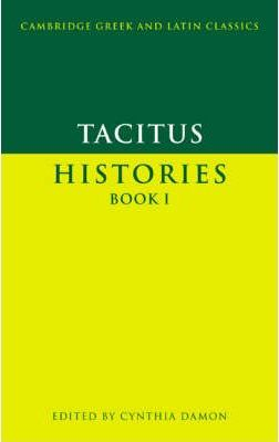 Tacitus: Histories Book I: Bk. 1