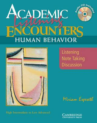 Academic Encounters Human Behavior Student's Book with Audio CD