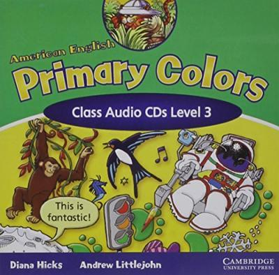 American English Primary Colors 3 Class Audio CDs