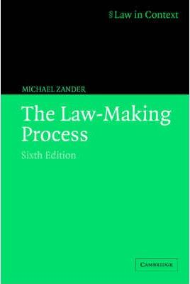Law in Context: The Law-Making Process