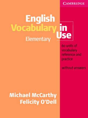 English Vocabulary In Use Elementary Pdf