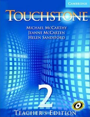 2 book touchstone audio teachers