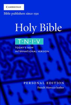 TNIV Bible Personal Edition Burgundy French Morocco Leather