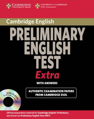 PET Practice Tests: Cambridge Preliminary English Test Extra Student's Book with Answers and CD-ROM