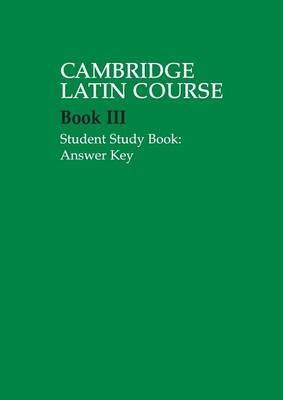 Cambridge Latin Course 3 Student Study Book Answer Key