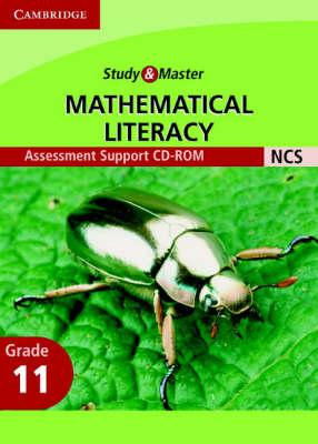 Study and Master Mathematical Literacy Grade 11 Assessment Support CD-Rom