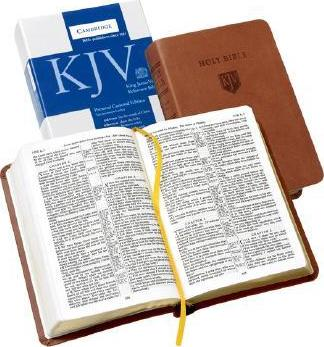 KJV Personal Concord Reference Edition KJ462: XR Tan Imitation Leather
