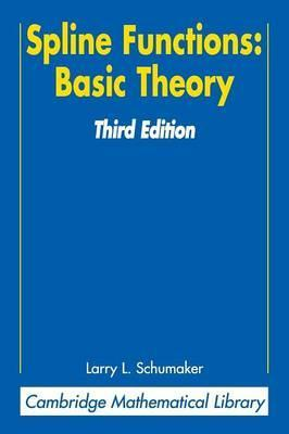 Spline Functions: Basic Theory