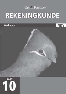 Study and Master Accounting Grade 10 Workbook (Afrikaans Translation): Grade 10