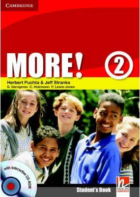 More! Level 2 Student's Book with Interactive CD-ROM: Level 2