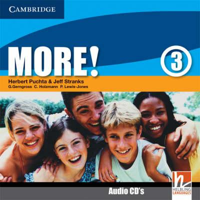 More! Level 3 Class Audio CDs: Level 3