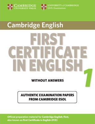 Cambridge First Certificate in English 1 for Updated Exam Student's Book without answers