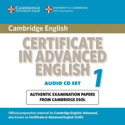 Cae Practice Tests Cambridge Certificate In Advanced English 1 For