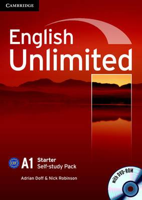 English Unlimited Starter Self-study Pack (Workbook with DVD-ROM