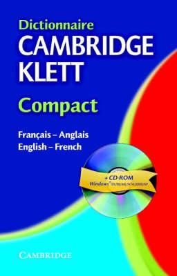 Dictionnaire Cambridge Klett Compact Francais-Anglais/English-French with CD-ROM