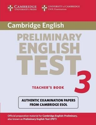 Practice Tests For The Pet Teachers Book
