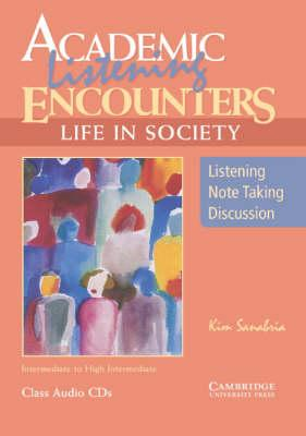 Academic Listening Encounters: Life in Society Class Audio CDs (3)