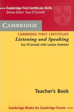 Skills For First Certificate Listening And Speaking Teachers Book