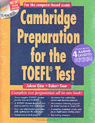 Cambridge Preparation for the TOEFL (R) Test Book with CD-ROM and Audio Cassettes pack