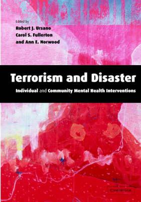Terrorism and Disaster Hardback with CD-ROM