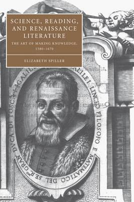 Science, Reading, and Renaissance Literature