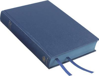 Book Of Common Prayer Desk Edition Blue Imitation Leather HB