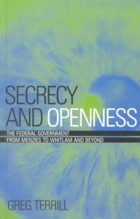 Secrecy And Openness
