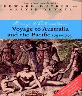 Voyage to Australia and the Pacific, 1791-1793