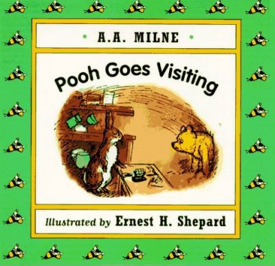 Pooh Goes Visiting Mini Board Book