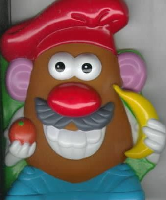 Mr. Potato Head Makes His Lunch