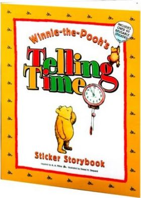 Winnie-The-Pooh's Telling Time, Sticker Storybook