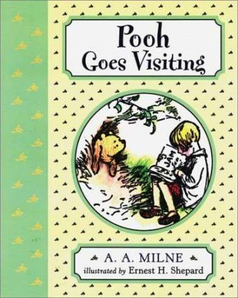 Pooh Goes Visiting/Wtp/Deluxe Picture Book