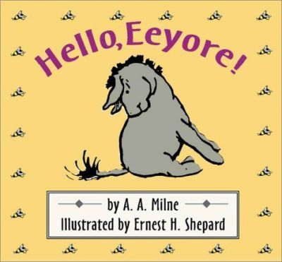 Hello, Eeyore!/Wtp/Cloth Board Book