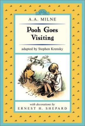 Pooh Goes Visiting: Winnie-The-Pooh Easy-To-Read