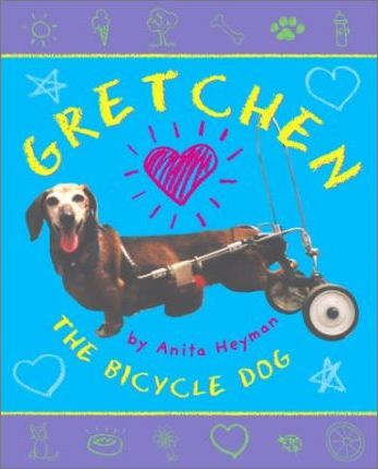 Gretchen the Bicycle Dog
